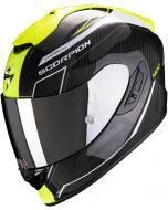 Scorpion EXO-1400 AIR Carbon Beaux White/Neon Yellow
