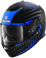 Shark Spartan 1.2 Kobrak Matt Black/Blue/Blue KBB