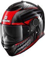 Shark Spartan 1.2 Kobrak Black/Red/Red KRR