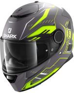 Shark Spartan 1.2 Antheon Matt Anthracite/Yellow/Black AYK