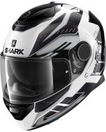Shark Spartan 1.2 Antheon White/Silver/Black WSK
