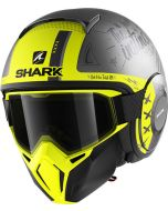 Shark Street Drak Tribute RM Matt Anthracite/Silver/Yellow ASY