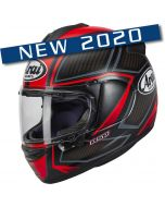 Arai Chaser-X Spine Fluor Red
