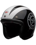 BELL Custom 500 DLX Ace Cafe 59 Gloss Black/White