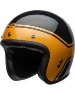 BELL Custom 500 DLX Streak Gloss Black/Gold