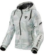 REV'IT Flare 2 Ladies Jacket Camo Grey/White