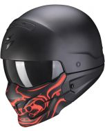 Scorpion EXO-Combat EVO Samurai Matt Black/Red