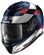 Shark Spartan 1.2 Strad Matt Black/White/Red BWR