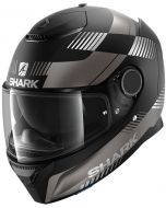 Shark Spartan 1.2 Strad Matt Black/Antracite/Silver KAS