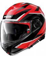Nolan N100-5 Plus Overland N-Com Corsa Red/Black 36