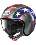 Nolan N21 Old Glory Scratched Chrome/Blue/Red 91
