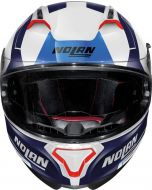 Nolan N87 Skilled N-Com Metal White/Blue 99