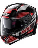 Nolan N87 Jolt N-Com Metal Black/Red 101