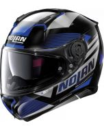 Nolan N87 Jolt N-Com Metal Black/Blue/Gey 102