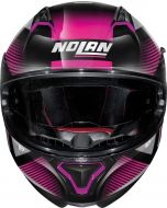 Nolan N87 Jolt N-Com Metal Black/Purple 103