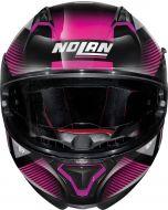 Nolan N87 Jolt N-Com Metal Black/Purple 103
