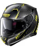Nolan N87 Sioux N-Com Flat Black/Yellow 106