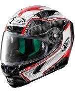 X-Lite X-803 ULTRA CARBON Hangar Black/White/Red 68
