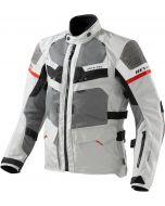 REV'IT Cayenne Jacket Pro Light Grey/Red