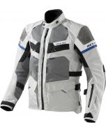 REV'IT Cayenne Jacket Pro Light Grey/Blue