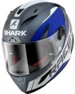 Shark Race-R Pro Sauer Matt Anthracite/White/Blue AWB