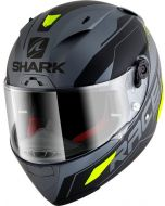Shark Race-R Pro Sauer Matt Anthracite/Black/Yellow AKY