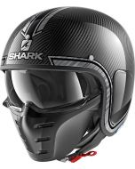 Shark S-Drak Vinta Carbon/Chrome/Silver DUS