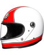 AGV X3000 Super Agv Red/White 008