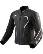 REV'IT Vertex GT Jacket Black/White