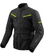 REV'IT Safari 3 Jacket Black/Neon Yellow
