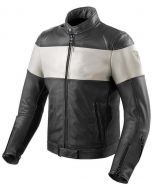REV'IT Nova Vintage Jacket Black/White