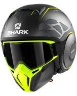 Shark Street Drak Hurok Matt Anthracite/Yellow/Black AYK