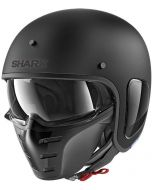 Shark S-Drak Blank Matt Black KMA