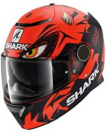 Shark Spartan 1.2 Lorenzo Matt GP Red/Black/Red RKR