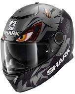 Shark Spartan 1.2 Lorenzo Matt GP Anthracite/Black/Anthracite AKA