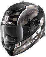 Shark Spartan 1.2 Zarco Malaysian GP Matt Black/Anthracite/Silver KAS