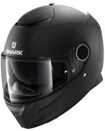 Shark Spartan 1.2 Blank Matt Black KMA
