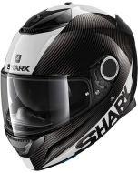 Shark Spartan Carbon 1.2 Skin Carbon/White/Silver DWS