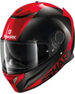 Shark Spartan Carbon 1.2 Skin Carbon/Red/Red DRR