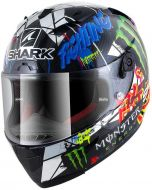 Shark Race-R PRO PC Lorenzo Catalunya GP Carbon/Chrome/Green DUG