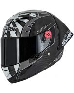 Shark Race-R PRO GP Zarco Carbon/Silver/Black DSK