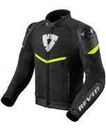 REV'IT Mantis Jacket Black/Neon Yellow