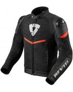 REV'IT Mantis Jacket Black/Neon Red