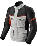 REV'IT Outback 3 Jacket Silver/Red