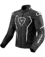 REV'IT Vertex TL Jacket Black/White