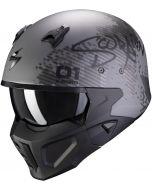 Scorpion Covert-X Xborg Matt Silver/Black