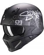 Scorpion Covert-X Xborg Matt Black/Silver