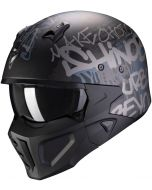 Scorpion Covert-X Wall Matt Black/Silver
