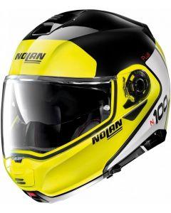 Nolan N100-5 Plus Distinctive N-Com Glossy Yellow 028