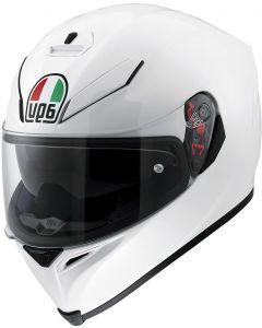 AGV K5 S Max Vision Pearl White 005